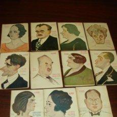 Libros antiguos: 11 LIBRETOS DE OBRAS TEATRALES, 1923, CARICATURAS DE TOVAR. . Lote 39190905
