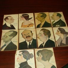 Libros antiguos: 10 LIBRETOS DE OBRAS TEATRALES, 1922-23, CARICATURAS DE TOVAR.. Lote 39191257