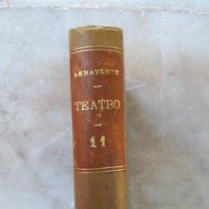 Libros antiguos: JACINTO BENAVENTE - TEATRO - TOMO UNDÉCIMO - AÑO 1905 - ROSAS DE OTOÑO - BUENA BODA - . Lote 39566294