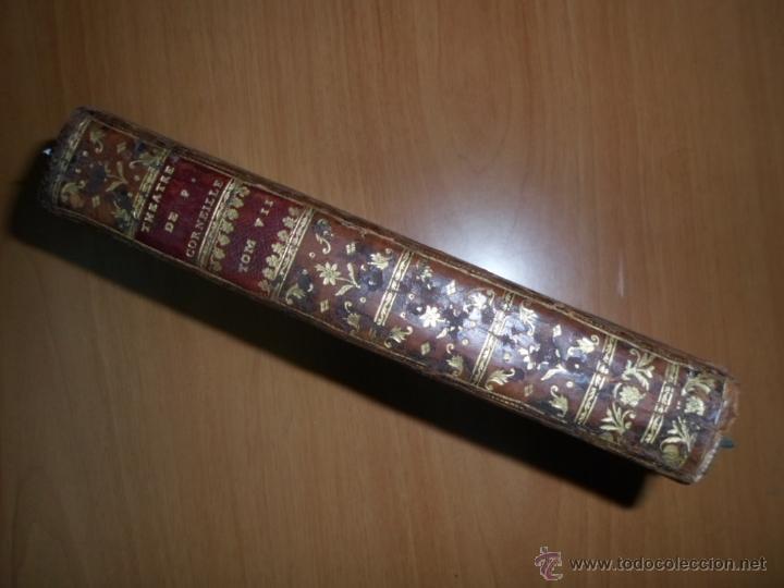 Libros antiguos: Theatre de Pierre Corneille, 1764, Pierre Corneille. Contiene 1 frontispicio y 3 grabados. - Foto 3 - 39540025