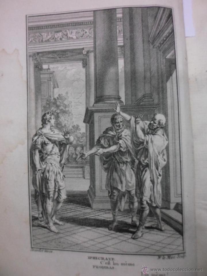 Libros antiguos: Theatre de Pierre Corneille, 1764, Pierre Corneille. Contiene 1 frontispicio y 3 grabados. - Foto 5 - 39540025