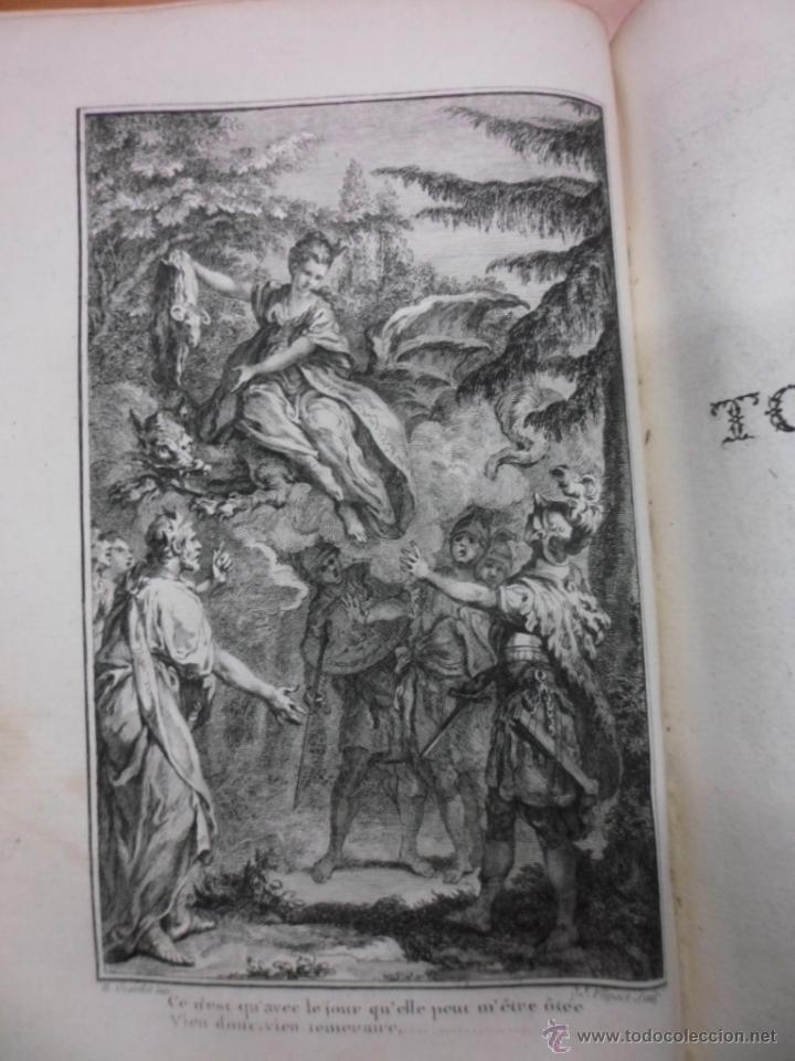 Libros antiguos: Theatre de Pierre Corneille, 1764, Pierre Corneille. Contiene 1 frontispicio y 3 grabados. - Foto 6 - 39540025