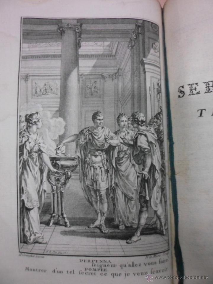 Libros antiguos: Theatre de Pierre Corneille, 1764, Pierre Corneille. Contiene 1 frontispicio y 3 grabados. - Foto 7 - 39540025
