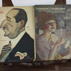 Libros antiguos: LP-004 - LA NOVELA TEATRAL Y LA NOVELA CORTA. LOTE DE 9 NUMEROS. VER DESCRIPCION. 1922.. Lote 39615961