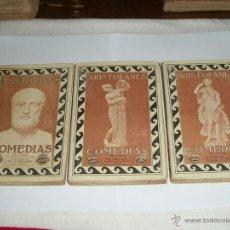 Libros antiguos: COMEDIAS DE ARISTOFANES.. Lote 39892272