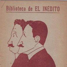 Libros antiguos: ALVAREZ QUINTERO, S. Y J: LOS OJOS DE LUTO. PASO DE COMEDIA. 1918. Lote 40097230