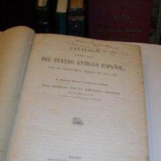 Livros antigos: CAYETANO BARRERA: CATÁLOGO BIBLIOGRÁFICO Y BIOGRÁFICO DEL TEATRO ANTIGUO ESPAÑOL. MADRID, 1860. Lote 40283903