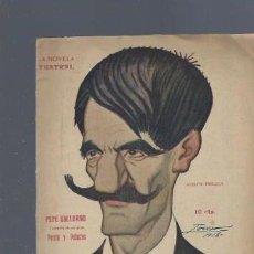 Libros antiguos: LA NOVELA TEATRAL, AÑO III, Nº 93, 1918, PEPE GALLARDO, PERRÍN Y PALACIOS. Lote 40419306