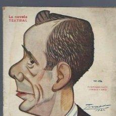 Libros antiguos: LA NOVELA TEATRAL, AÑO VI, Nº 249, 1921, CINEMATÓGRAFO NACIONAL, GUILLERMO PERRÍN Y MIGUEL PALACIOS. Lote 40420361