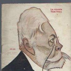 Libros antiguos: LA NOVELA TEATRAL, AÑO VI, Nº 241, 1921, CRISTOBALON, MANUEL LINARES RIVAS. Lote 40421193