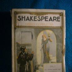 Libros antiguos: SHAKESPEARE: - EL MERCADER DE VENECIA. CIMBELINO. PENAS DE AMOR PERDIDAS - (PROMETEO, 1920). Lote 40980540