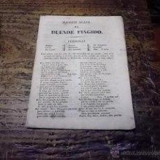 Libros antiguos: 3073.- SAINETE NUEVO EL DUENDE FINGIDO. Lote 42100500