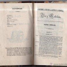 Libros antiguos: TÍA Y SOBRINA, PIEZA EN UN ACTO. DON JUSTO FONOLLOSA. IMP. DE DON SALVADOR ALBERT. MADRID. 1841.. Lote 42473707