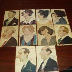 Libros antiguos: 10 LIBRETOS DE OBRAS TEATRALES, 1919 A 1924. CARICATURAS DE TOVAR. . Lote 43006367