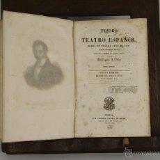 Libros antiguos: 4634- TESORO DEL TEATRO ESPAÑOL. EUGENIO DE OCHOA. LIB. BAUDRY. 1838. TOMO 1 Y 5 .. Lote 43437306