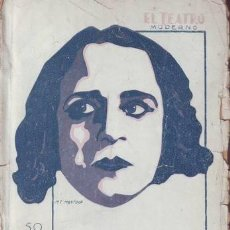 Libros antiguos: VILLAESPESA, FRANCISCO: ABEN-HUMEYA. EL TEATRO MODERNO Nº 257. Lote 43492793