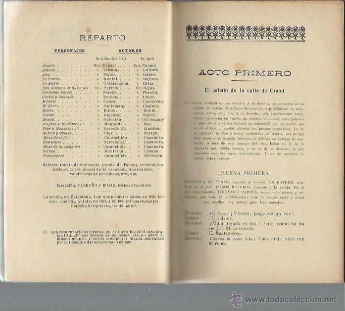 Libros antiguos: MISTERIOS DE BARCELONA,PROCESO FONTANELLAS,PALLARDÓ Y E.BOIX,MADRID SOC.DE AUTORES ESPAÑOLES 1915 - Foto 2 - 43811204