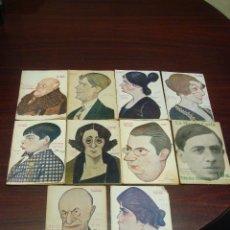 Libros antiguos: 10 LIBRETOS DE OBRAS TEATRALES, 1916 A 1923. CARICATURAS DE TOVAR.. Lote 44670574