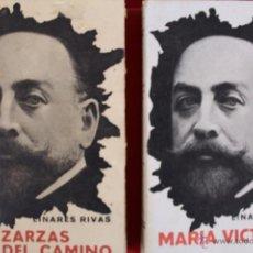 Libros antiguos: L- 561. MANUEL LINARES RIVAS. DOS LIBROS DE TEATRO. LAS ZARZAS DEL CAMINO Y MARIA VICTORIA. 1920. Lote 44714443