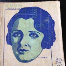 Libros antiguos: UNA MUCHACHA DE VANGUARDIA. ANGEL CUSTODIO Y JAVIER DE BURGOS. Lote 45233579