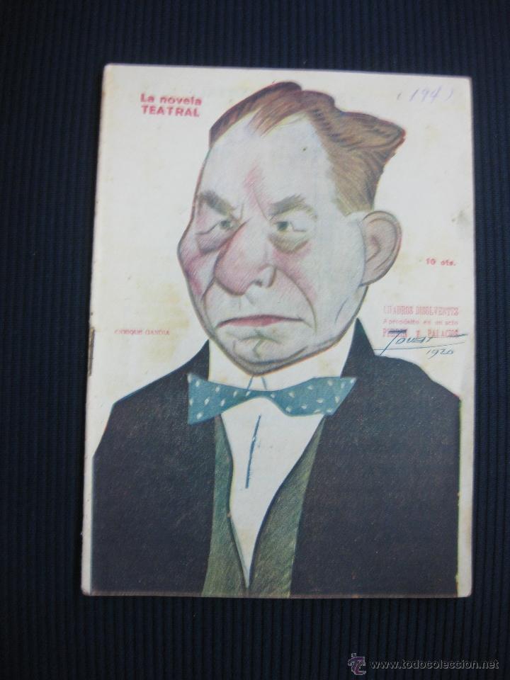 LA NOVELA TEATRAL Nº 194. CUADROS DISOLVENTES. PERRIN Y PALACIOS. (Libros antiguos (hasta 1936), raros y curiosos - Literatura - Teatro)