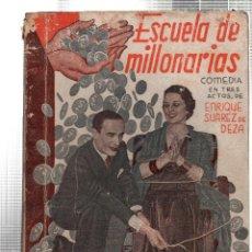 Libros antiguos: LA FARSA. ESCUELA DE MILLONARIAS. ENRIQUE SUAREZ DE DEZA. Nº 306. JULIO 1933. Lote 45402158