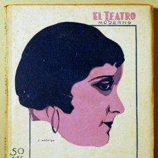 Libros antiguos: EL PATO SALVAJE - TEATRO MODERNO 1931 - IBSEN, ENRIQUE. Lote 45464113