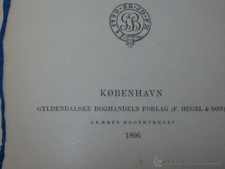 Libros antiguos: JOHN GABRIEL BORKMAN.HENRIK IBSEN.1896.ENCUADERNACIÓN DE LUJO.EDICIÓN BUSCADÍSIMA.UNA JOYA.VER FOTOS - Foto 4 - 45788283