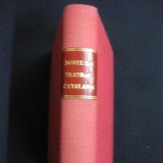 Libros antiguos: NOVEL·LA TEATRAL CATALANA. 9 NUMEROS ENCUADERNADOS.. Lote 46401042