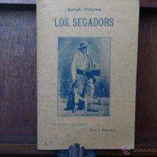 Alte Bücher - LOS SEGADORS - SERAFI PITARRA- DRAMA EN TRES ACTES -2 EDICION 1907 EN CATALA- - 46799931