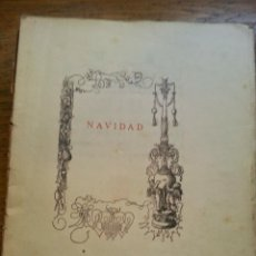 Libros antiguos: NAVIDAD, GREGORIO MARTINEZ SIERRA. Lote 46950920
