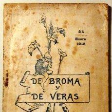 Libros antiguos: REVILA, S.J. - DE BROMA Y DE VERAS. MI TEATRILLO - BILBAO 1918. Lote 36727849