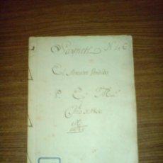 Libros antiguos: 1800 - MANUSCRITO - SAINETE - EL MERCADER VENDIDO. Lote 47946394