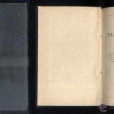 Libros antiguos: TEATRO COMPLETO. TOMO XXV. PIEZAS BREVES. A-QUINTERO-0028. Lote 48196012