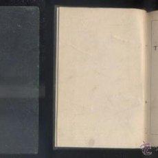 Libros antiguos: TEATRO COMPLETO. TOMO I. PIEZAS BREVES. A-QUINTERO-00233. Lote 48196112
