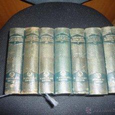 Libros antiguos: EL TEATRO ESPAÑOL-SAINZ DE ROBLES-AGUILAR JOYA-7 TOMOS.. Lote 48448705