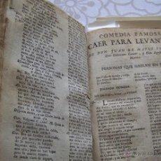 Libros antiguos: 1760´S VOLUMEN FACTICIO REUNE 17 OBRAS DE TEATRO CALDERON DE LA BARCA , LOPE DE VEGA ETC.... Lote 48686928
