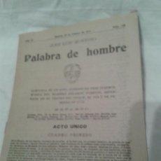 Libros antiguos: ANTIGUO LIBRILLO DE LA ZARZUELA EN UN ACTO, DIVIDIDO EN TRES CUARTOS. Lote 48699734