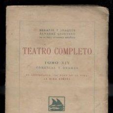 Libros antiguos: TEATRO COMPLETO. TOMO XIV. COMEDIAS Y DRAMAS. ALVAREZ QUINTERO, S. Y J. A-QUINTERO-0077. Lote 48758908