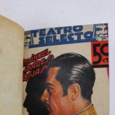Libros antiguos: L-1831. 3 OBRAS DE TEATRO SELECTO: TONINADAS, LA ERMITA, LA FUENTE Y EL RIO, ROSA DE MADRID. Lote 49892647