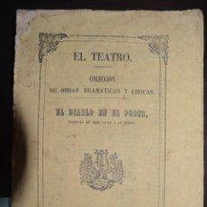 Libros antiguos: EL DIABLO EN EL PODER. COLECCION DE OBRAS DRAMATCAS Y LIRICAS. ZARZUELA DE FRANCISCO CAMPRODON. 1856. Lote 50673333