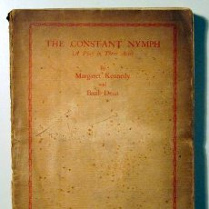 Libros antiguos: KENNEDY, MARGARET - DEAN, BASIL - THE CONSTANT NYMPH (A PLAY IN THREE ACTS) - LONDON 1927. Lote 51467681