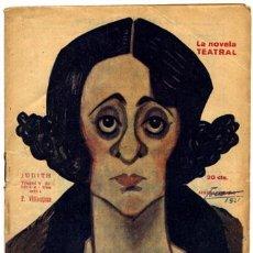 Libros antiguos: VILLAESPESA, FRANCISCO JUDITH. TRAGEDIA BÍBLICA EN TRES ACTOS. 1921.. Lote 51519809