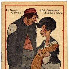 Libros antiguos: ARNICHES, CARLOS Y JACKSON VEYAN, JOSÉ. LOS GRANUJAS. 1917.. Lote 51573750