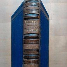Libros antiguos: RACINE: CHEFS-DÒUVRE DE J. RACINE, (BIBLIOTHEQUE NATIONALE, PARÍS, 1871). Lote 51627272