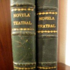 Libros antiguos: 2 TOMOS DE 'LA NOVELA TEATRAL' 1917. ARNICHES, ECHEGARAY, PALOMERO, VITAL AZA.... Lote 52471055