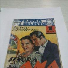Libros antiguos: TEATRO SELECTO, SEÑORA AMA DE JACINTO BENAVENTE 1935. Lote 53061215