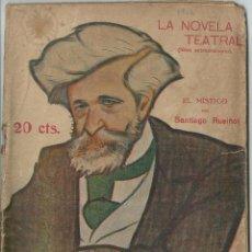Libros antiguos: REVISTA LITERARIA: LA NOVELA TEATRAL. SANTIAGO RUSIÑOL // EL MÍSTICO. 31 DIC 1916. MODERNISMO. Lote 53604415