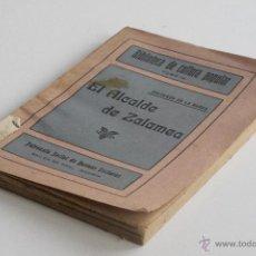 Libros antiguos: EL ALCALDE DE ZALAMEA - CALDERÓN DE LA BARCA. Lote 53798788