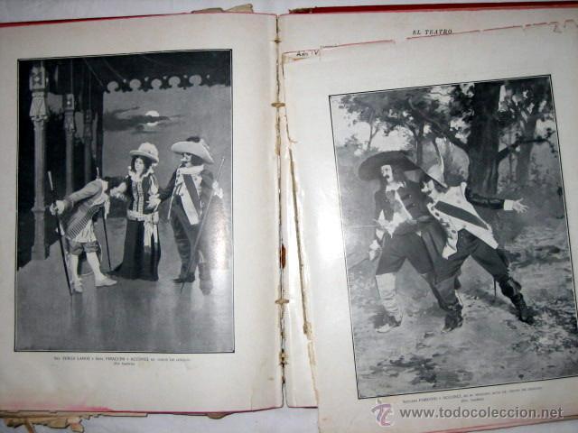 Libros antiguos: El Teatro, publicación mensual, año 1903, de enero a diciembre, encuadernados. - Foto 6 - 53872011